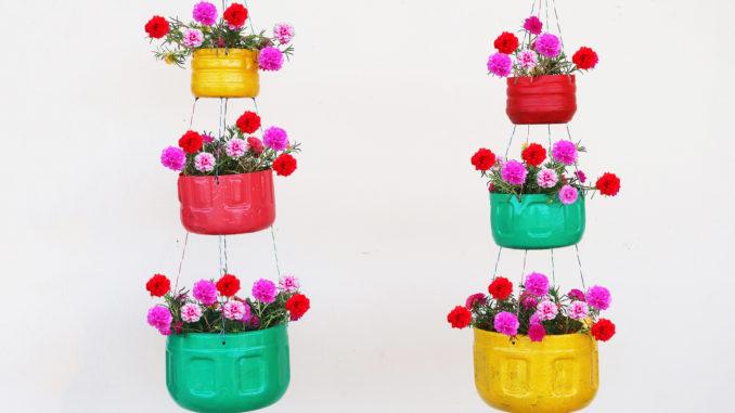 Beautiful 3 Storey Hanging Garden Ideas For Homes