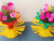 Beautiful Colorful Flower Pots From Recycled Plastic Bottles (3)