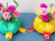 Beautiful Turtle Flower Pot Ideas From Recycled Plastic Bottles (2)