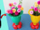 Make Beautiful Flower Pots From Recycled Plastic Bottles (4)