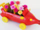 Recycle Plastic Bottles Into Beautiful Car-Shaped Flower Pots, Brilliant Ideas