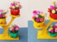 Great Garden Ideas, Beautiful Flower Pots From Recycled Plastic Bottles And Wood (2)