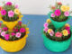 Recycle Plastic Bottles To Make beautiful Two-Tier Flower Pots To Grow Portulaca (Moss Rose) (1)