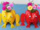 Great Idea, Gorgeous Frog Flower Pots From Recycled Plastic Bottles