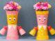 Beautiful Flower Pot Ideas For Small Garden Gorgeous Girl Shaped Flower Pots From Plastic Bottles