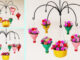 Beautiful Hanging Garden From Recycled Plastic Bottle To Small Balcony - Portulaca Hanging Garden