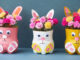 Creative Flower Pot Ideas, Rabbit Shaped Flower Pots From A Gorgeous Recycled Plastic Bottle