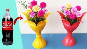 Creative Flower Pot Ideas From Discarded Plastic Bottles (1)