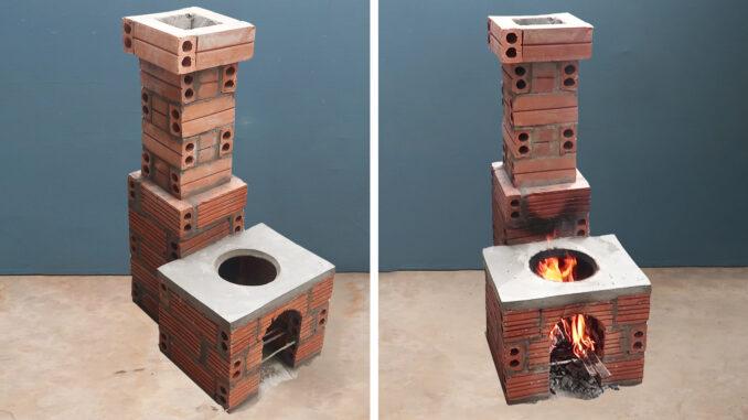 Great Smoke-Free Wood Stove Construction Ideas