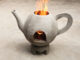 DIY Teapot Shaped Cement Stove At Home | Great Smoke Free Wood Stove Idea