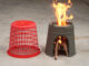 DIY Firewood Stove At Home   Design Ideas Cement Stove From The Trash