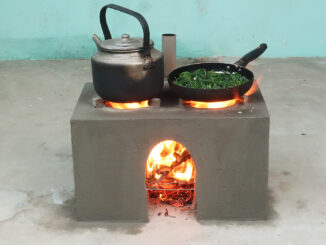 Creative Smoke Free Wood Stove | Cement And Brick Ideas
