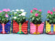 Beautiful Colorful Butterfly Flower Pots Ideas For A Garden