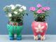 Creative Flower Pot Ideas, DIY Stunning Flower Pots From Plastic Bottles And Plastic Balls