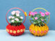 Creative Idea Of Beautiful Colorful Flower Pots From Discarded Plastic Bottles