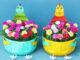Beautiful flower garden ideas from plastic bottles