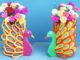 Creative flower pot ideas, Recycle plastic bottles to make beautiful peacock flower pots