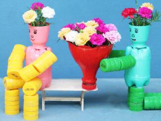 Great creative flower pots, Beautiful flower pot ideas for small gardens