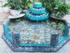 Aquarium waterfall creative aquarium from cement