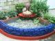 Beautiful waterfall aquarium ideas for garden corner, Great cement ideas