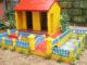 DIY beautiful miniature garden house, Home garden aquarium ideas from cement